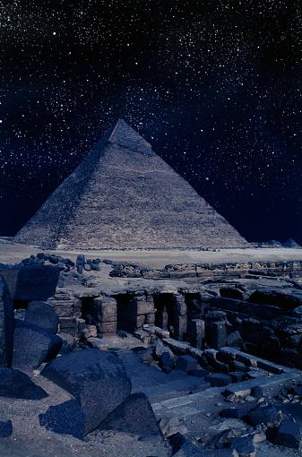Archaeology「Tombs Near Pyramid of Khafre」:スマホ壁紙(8)