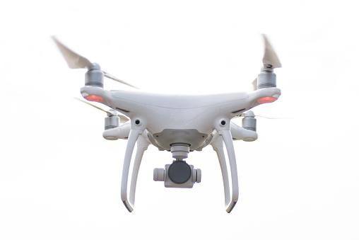 Rudeness「Drone hovering against white background」:スマホ壁紙(18)