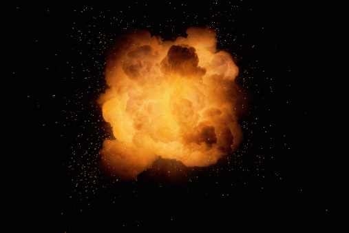 Fireball「Huge fireburst explosion」:スマホ壁紙(4)