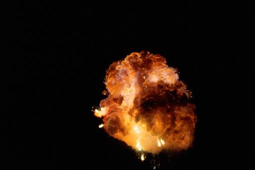 Fireball「Huge fireburst from distance」:スマホ壁紙(8)