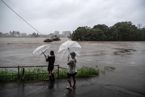 Tokyo - Japan「Typhoon Hagibis Hits Tokyo」:写真・画像(10)[壁紙.com]