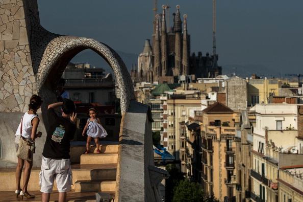 Sagrada Familia - Barcelona「Daily Life In Barcelona」:写真・画像(0)[壁紙.com]