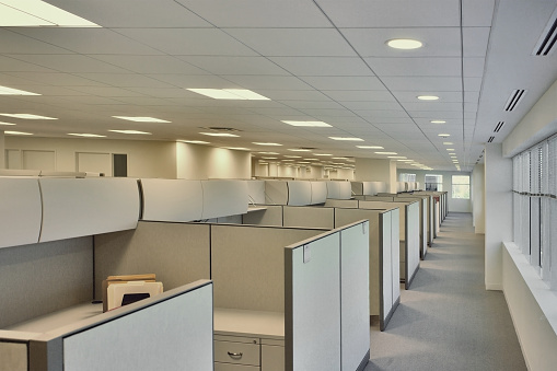 Office Cubicle「Corporate office」:スマホ壁紙(5)