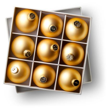 Number 9「Box of Christmas balls」:スマホ壁紙(6)