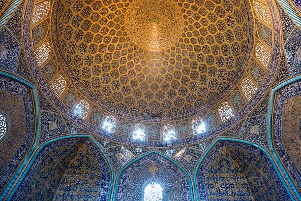 Lutfullah Mosque interior in Esfahan,Iran:スマホ壁紙(壁紙.com)