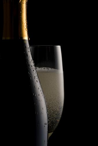 Wine Bottle「Fizzy Champagne」:スマホ壁紙(16)