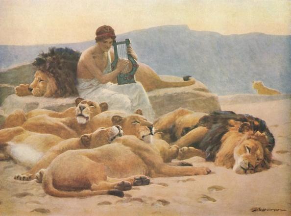 爪弾く「Orpheus And His Lute」:写真・画像(3)[壁紙.com]
