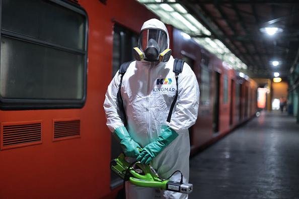 Mexico「Mexico City's Subway Cleaning Efforts Against Coronavirus Spread」:写真・画像(14)[壁紙.com]