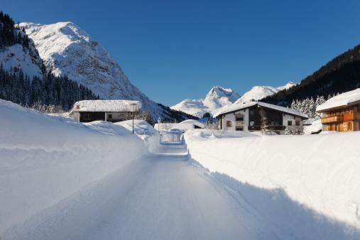 Lech「Ski village Lech am Arlberg」:スマホ壁紙(19)