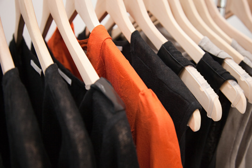 Clothes Rack「Clothing on a rail」:スマホ壁紙(11)