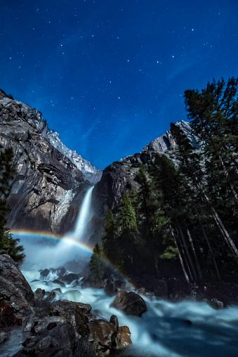 虹「Big Dipper Over Moonbow」:スマホ壁紙(14)
