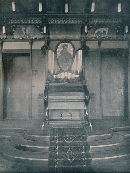Symmetry「Decorations for a Music Room by Fritz Erler」:写真・画像(2)[壁紙.com]