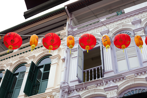 Chinese Lantern「Decorations for Chinese new year」:スマホ壁紙(6)