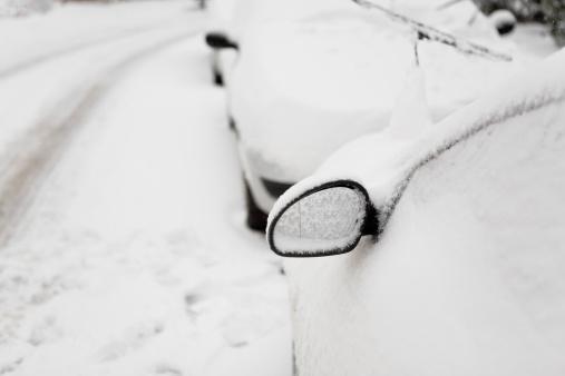 Snowdrift「Buried Car Series」:スマホ壁紙(7)