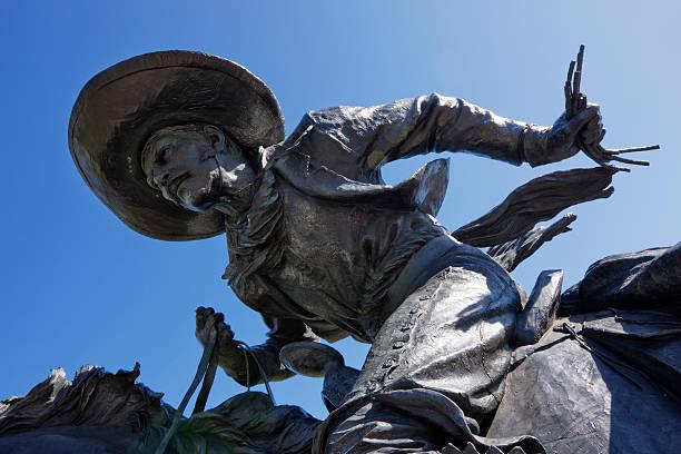 Cowboy Sculpture Detail:スマホ壁紙(壁紙.com)