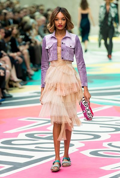 Cropped Jacket「Burberry Prorsum Runway - London Fashion Week SS15」:写真・画像(15)[壁紙.com]