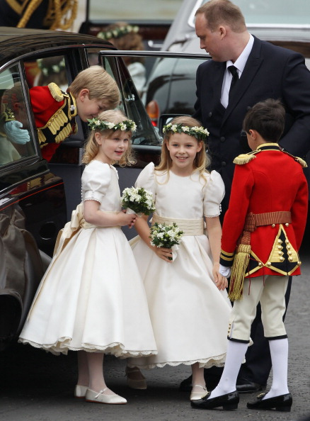 Margarita Armstrong-Jones「Royal Wedding - Wedding Guests And Party Make Their Way To Westminster Abbey」:写真・画像(19)[壁紙.com]