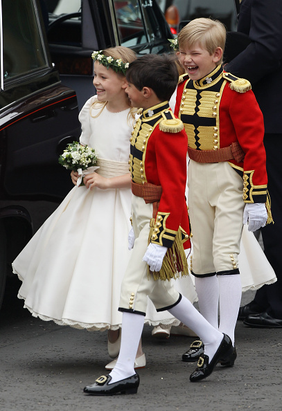Margarita Armstrong-Jones「Royal Wedding - Wedding Guests And Party Make Their Way To Westminster Abbey」:写真・画像(10)[壁紙.com]