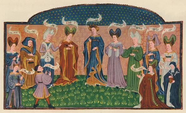 Headdress「Allegorical Figures In Court Dress」:写真・画像(10)[壁紙.com]