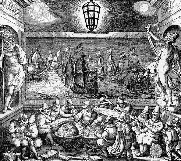Direction「Allegorical presentation of Dutch seamanship」:写真・画像(19)[壁紙.com]