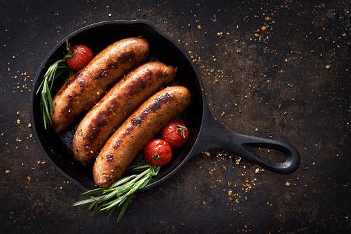 Sausage「Sausages in a skillet」:スマホ壁紙(18)