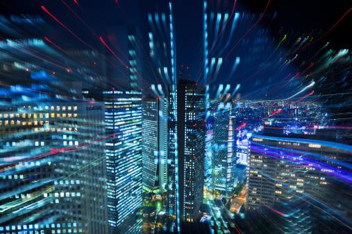 Shinjuku Ward「Tokyo City Lights」:スマホ壁紙(14)