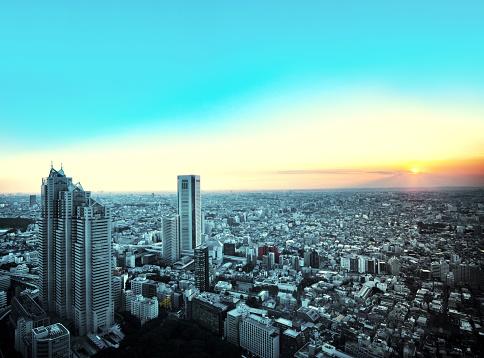 Shinjuku Ward「Tokyo City View」:スマホ壁紙(15)