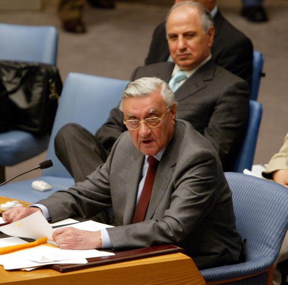 Iraqi Governing council「UN Security Council Meets To Discuss Reconstruction In Post-War Iraq」:写真・画像(11)[壁紙.com]