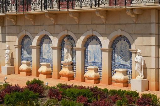 Formal Garden「18th century palacio do visconde de estoi; estoi faro portugal」:スマホ壁紙(11)