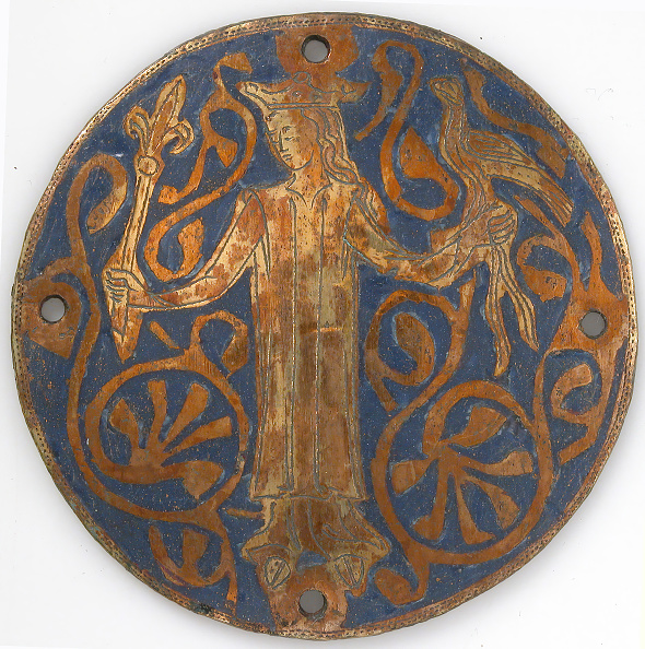 Balance「Medallion With A Queen Holding A Scepter And Falcon」:写真・画像(14)[壁紙.com]