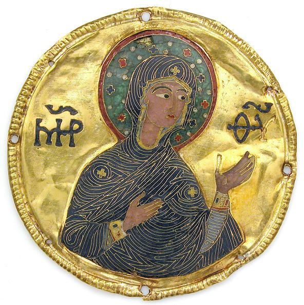 Virgin Mary「Medallion With The Virgin From An Icon Frame」:写真・画像(5)[壁紙.com]