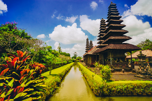 Balinese Culture「Taman Ayun the Royal Family Temple in Bali, Indonesia」:スマホ壁紙(3)