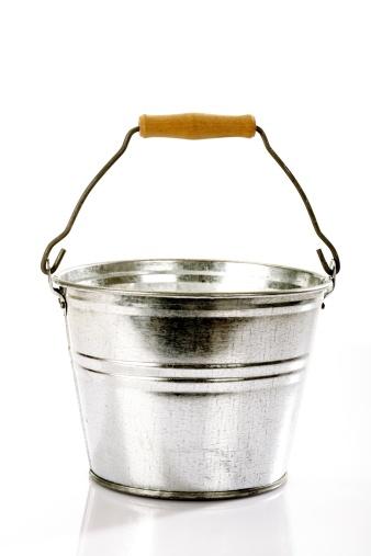 Bucket「Zinc bucket, close-up」:スマホ壁紙(17)