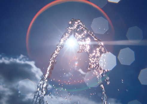 Drinking Fountain「Water Spray」:スマホ壁紙(9)