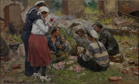 Realism「Sailors Playing Cards」:写真・画像(17)[壁紙.com]