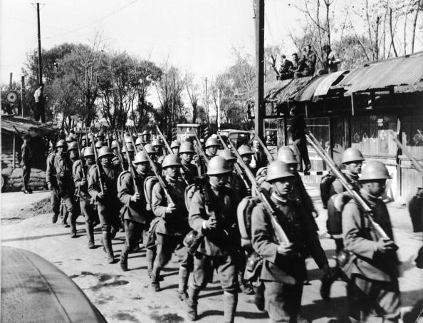 In A Row「Japanese Troops」:写真・画像(15)[壁紙.com]
