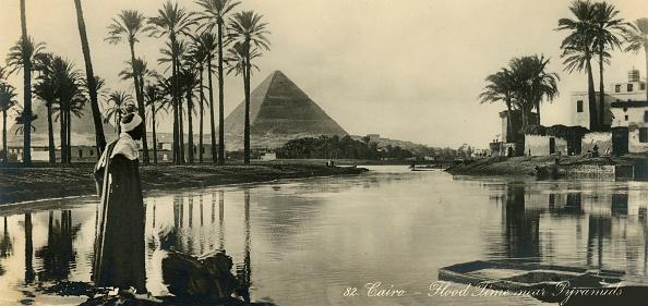 Riverbank「Cairo - Flood Time Near Pyramids」:写真・画像(14)[壁紙.com]