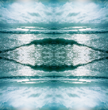 Nouvelle-Aquitaine「Kaleidoscope waves and surging billows」:スマホ壁紙(9)