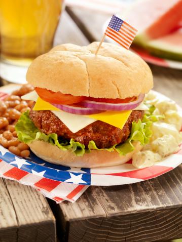 Picnic「4th of July Burger and Beer」:スマホ壁紙(9)