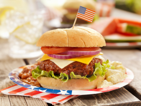 Spanish Onion「4th of July Burger」:スマホ壁紙(5)