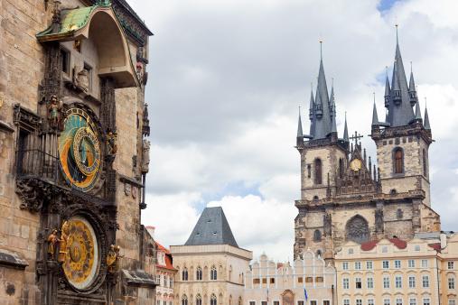 Gothic Style「Prague Old Town」:スマホ壁紙(2)