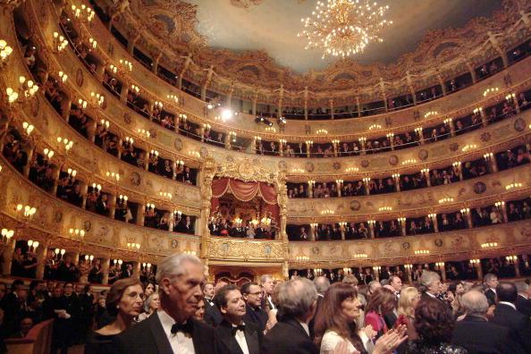Opera「Famous Theater La Fenice Reopens In Venice」:写真・画像(1)[壁紙.com]
