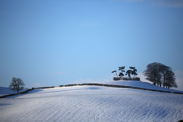Snowing「Snow And Freezing Temperatures Hit UK」:写真・画像(17)[壁紙.com]
