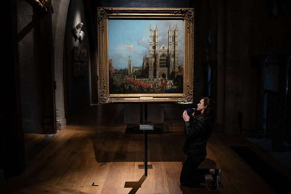 Westminster Abbey「Public To See Westminster Abbey Canaletto For The First Time」:写真・画像(15)[壁紙.com]