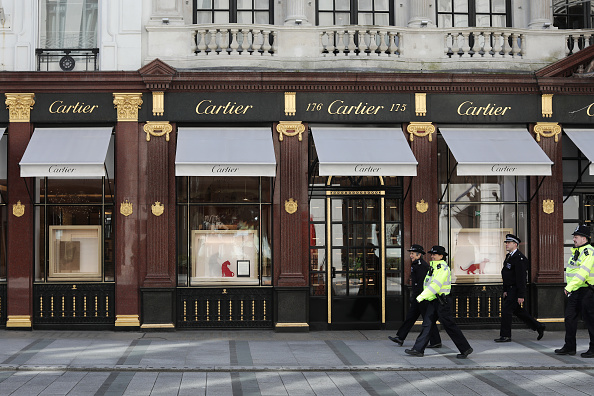 Cartier「UK On Lockdown Due To Coronavirus Pandemic」:写真・画像(6)[壁紙.com]