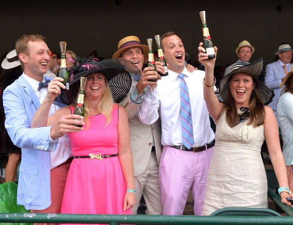 Guest「Moet & Chandon Toasts The 139th Kentucky Derby - Day 2」:写真・画像(4)[壁紙.com]