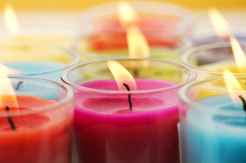 Saturated Color「Scented candles」:スマホ壁紙(10)