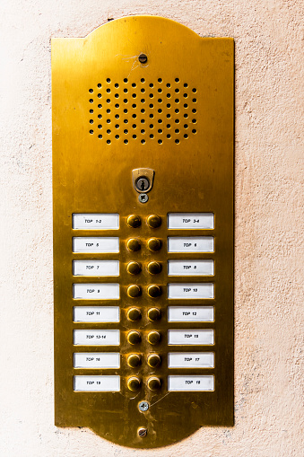 Equality「Doorbell button panel and intercom」:スマホ壁紙(1)