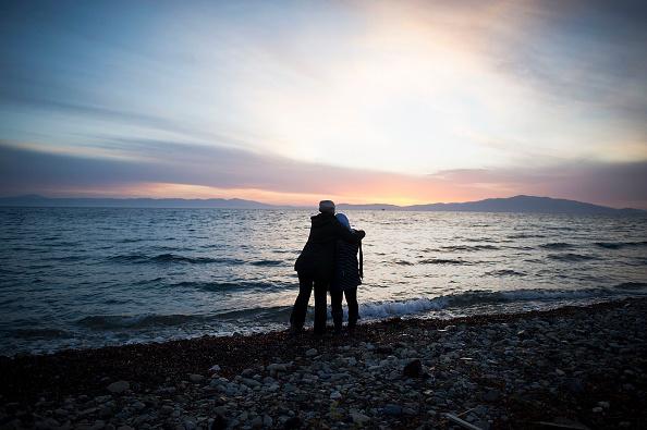島「Greek Island Of Lesbos On The Frontline Of the Migrant Crisis」:写真・画像(3)[壁紙.com]
