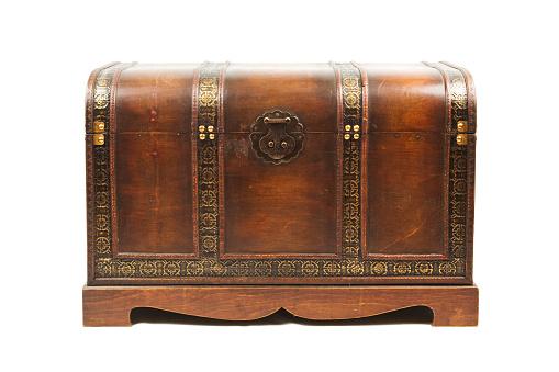Trunk - Furniture「Antique wooden trunk」:スマホ壁紙(19)